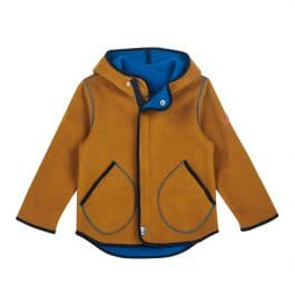 finkid – Fleecejacke – JUMPPA – Zip in Innenjacke – cinnamon/ navy
