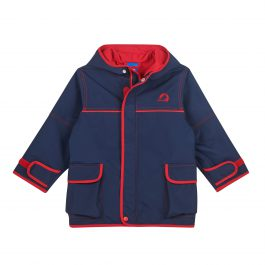 finkid – Outdoor Parka – TUULIS – Zip in Aussenjacke – navy/ red