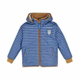 finkid – Winterjacke & Skijacke – VANU SOFT – pebblesblue/cinnamon