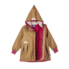 finkid – 2 in 1 Outdoorjacke – AINA ICE – cinnamon/persian red