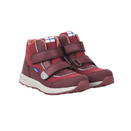 finkid – hohe Outdoorschuhe – KULKU – persian red/cabernet