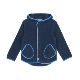 finkid – Fleecejacke – JUMPPA WOOL – Zip in Innenjacke – navy/nautic