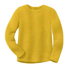DISANA – Linksstrick-Pullover – curry
